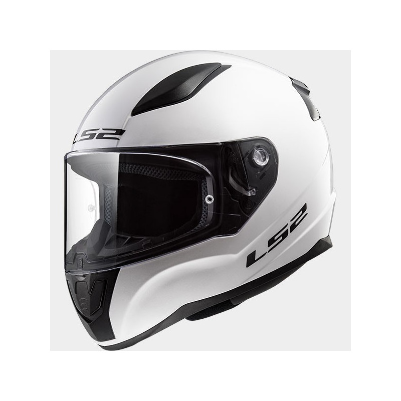 CASCO MOTO INTEGRALE LS2 FF353 RAPID SOLID WHITE