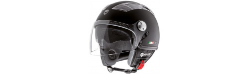 CASCO DEMI-JET HELMO TURBINE RUBBER BLACK