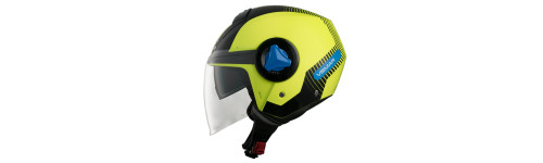 CASCO MOTO JET VEMAR BREEZE RADAR GIALLO